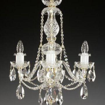 3 arm chandelier