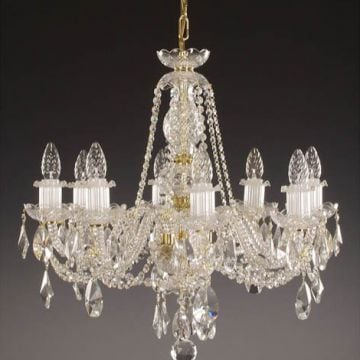 Victorian bohemian crystal ceiling wall chandelier katherine 8