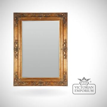 Sienna Mirror in Gold in a choice of sizes