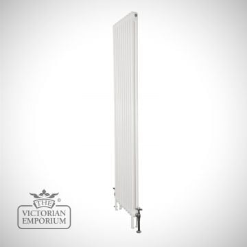 Plain tall steel column radiator 2 columns 1910mm high