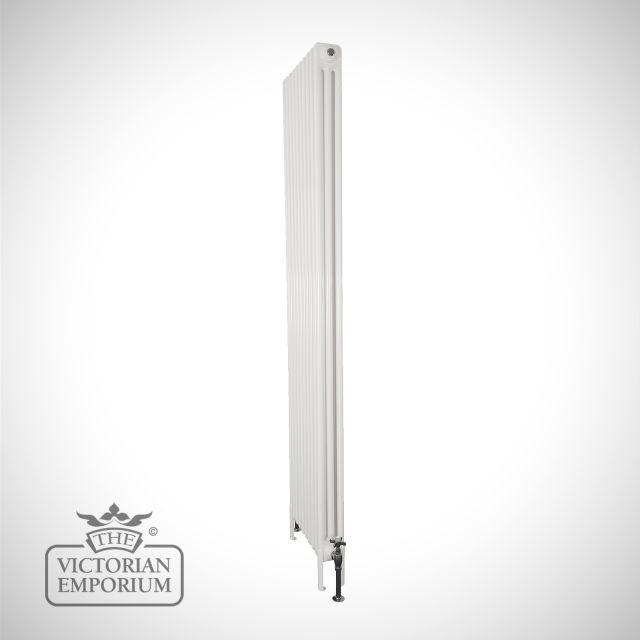 Plain tall steel column radiator 3 columns 1800mm high