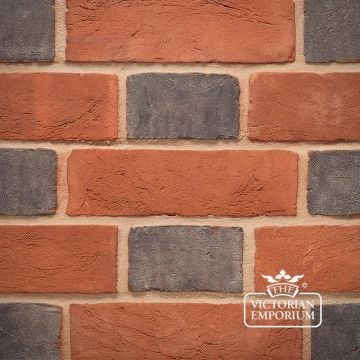 Blue Header Brick for Flemish Bond