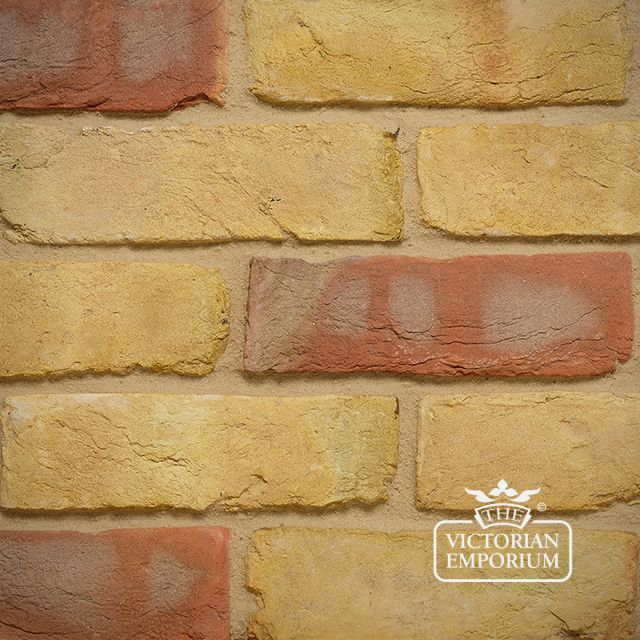 Yellow Multi Stock Brick Slip