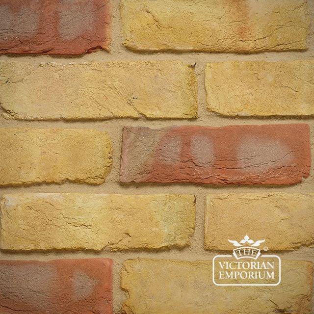 Yellow Multi Stock Brick Slip