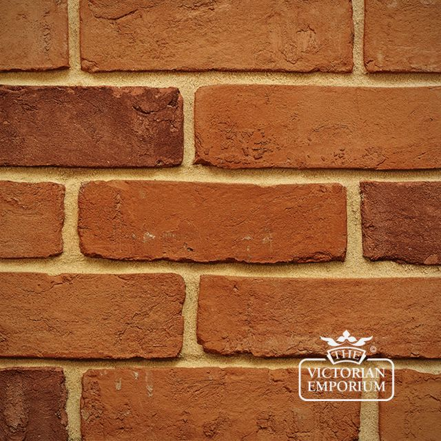 Farmhouse Orange Brick Slip