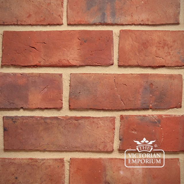 "Lightly Weathered Waterstruck 3"" Brick Slip"