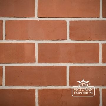 Orange Wirecut Brick Slip