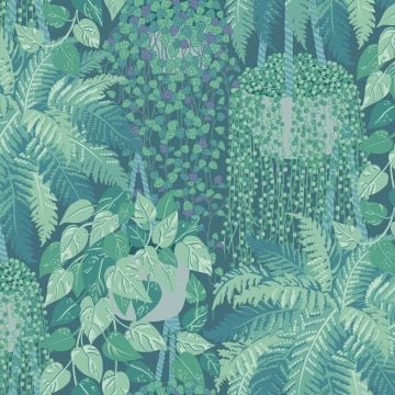 Fern wallpaper in a choice of 2 colourways