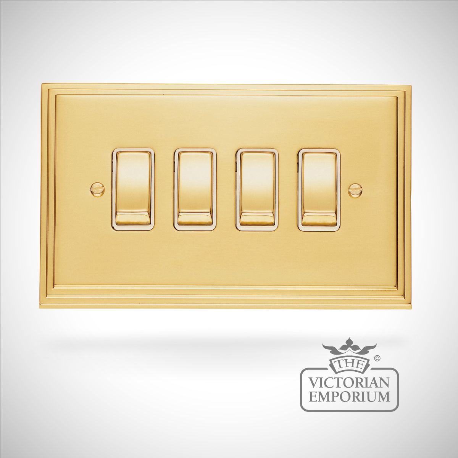 Decorative Brass Switch Plates. Decorative Craftsman Design Copper ...
