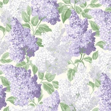 Lilac wallpaper in a choice of 4 colourways