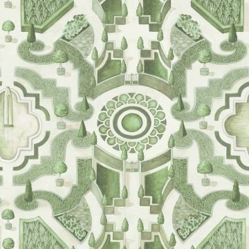 Topiary wallpaper in a choice of 3 colourways