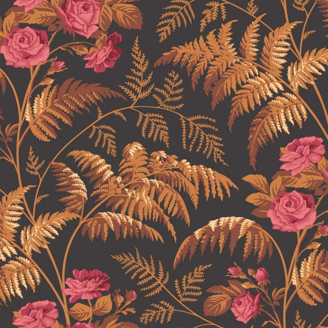 Rose wallpaper in a choice of 3 colourways