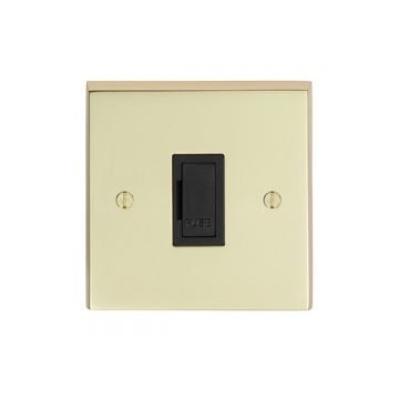 1 Gang 13Amp Un-Switched Fuse Spur - brass, chrome or satin chrome