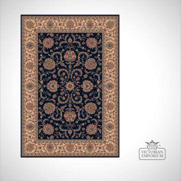 Victorian Rug - style RO1640 Red or Navy