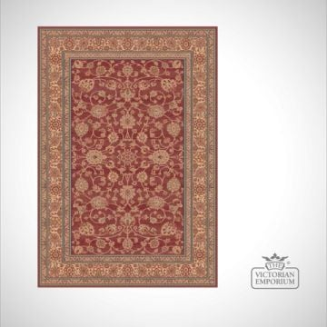 Victorian Rug - style RO1637 Red