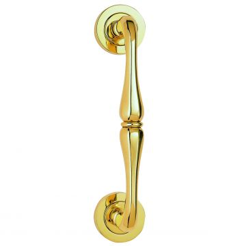 Elegant Pull handle on rose