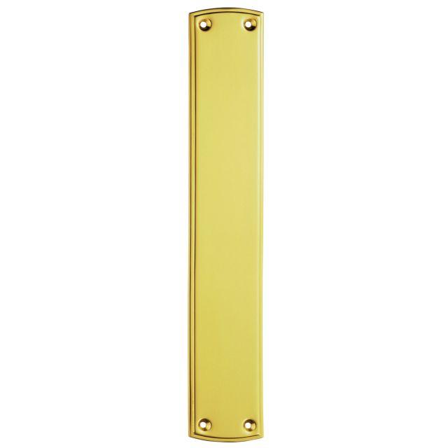 Plain Brass Fingerplate