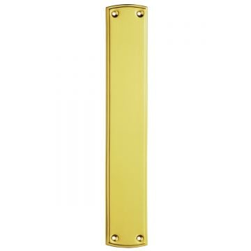Plain Brass Fingerplate