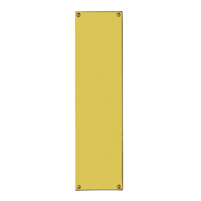 Large Plain Flat Pushplate