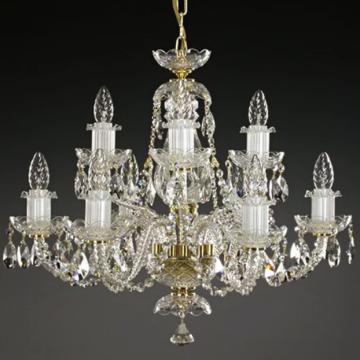 Classic 9 arm chandelier