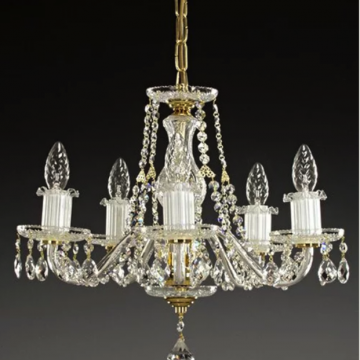 Classic 5 arm chandelier