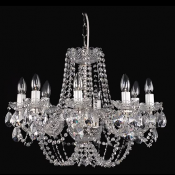 Very traditional 8 arm chandelier