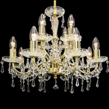 Beautiful metal arm chandelier
