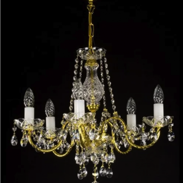 Adele 6 arm chandelier