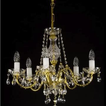 Adele 6 arm chandelier