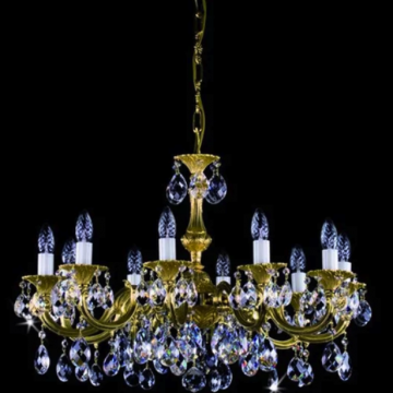 Alicia Cast 10 arm chandelier