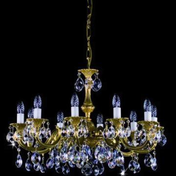 Alicia Cast 10 arm chandelier