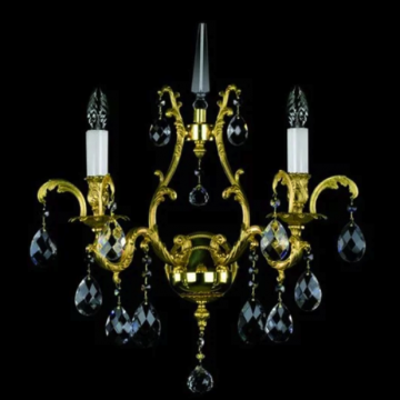 Zanna cast metal double wall sconce