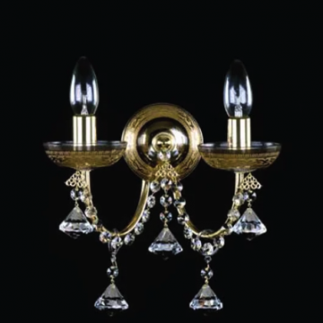 Venice double wall sconce