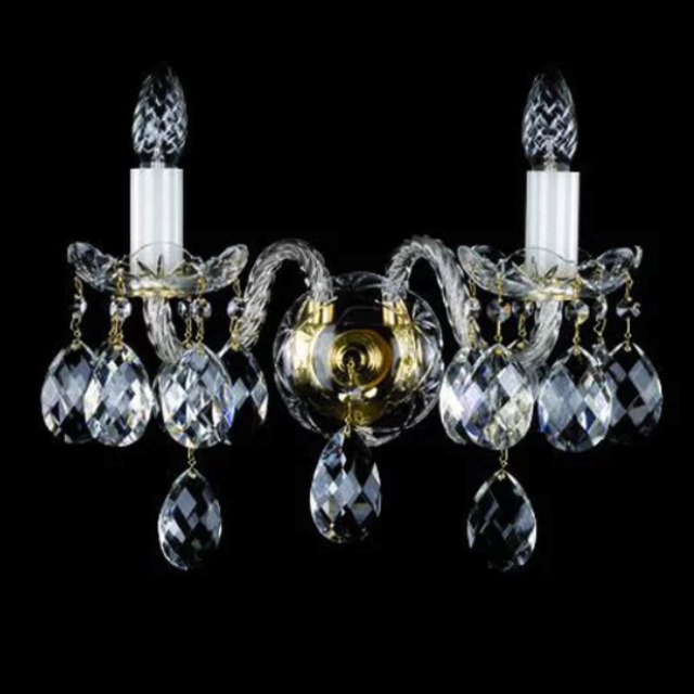 Tibera double wall sconce