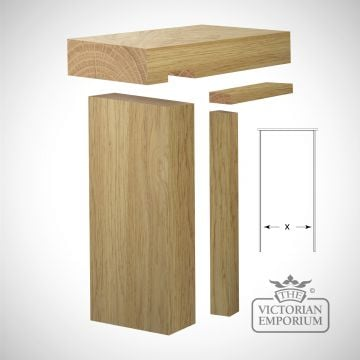 Single Oak Door Lining - Various sizes