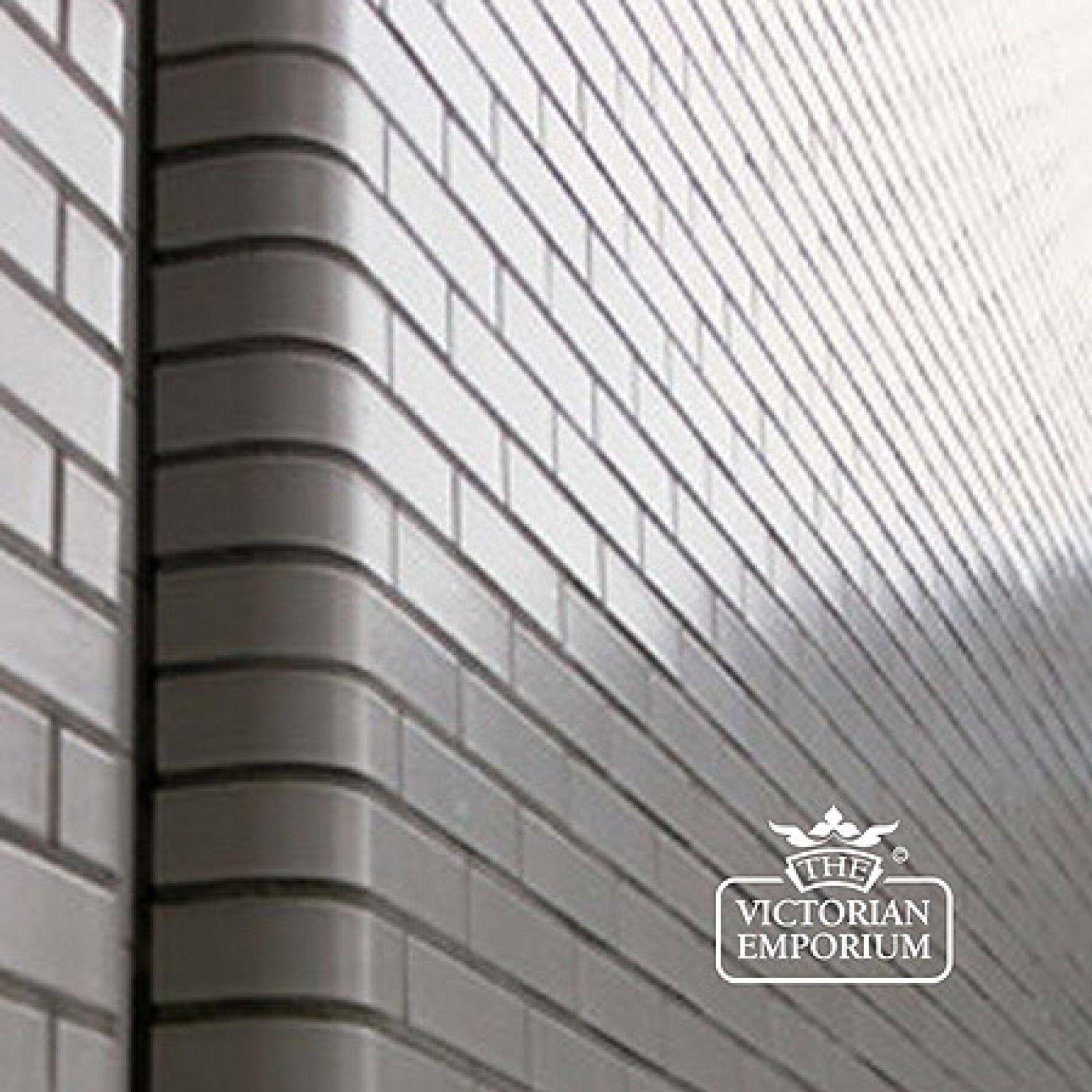 Glazed Bricks Stretcher And Stretcher Header