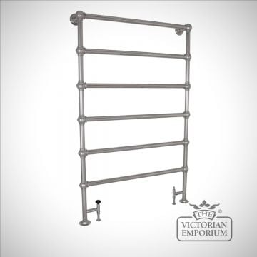 Grande Heated Towel Rail 1150x1800mm in a chrome, nickel or copper finish