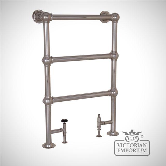 Grande Heated Towel Rail 650mm x 1000mm in a chrome, nickel or copper finish