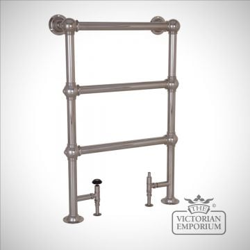 Grande Heated Towel Rail 650mm x 1000mm in a chrome, nickel or copper finish