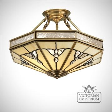 Gladstone 4 light semi flush mount light