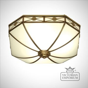 Bannerman 4 light flush mount light