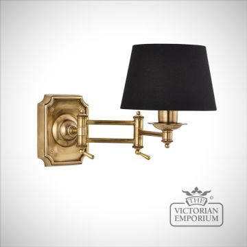 Winchester swing arm wall light