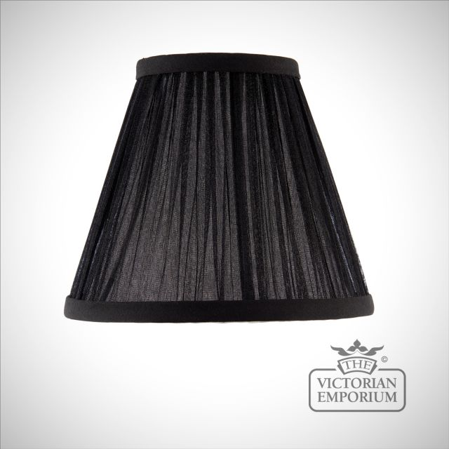 Kemp 6 inch lamp shade in Black or Beige
