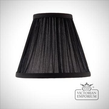 Kemp 6 inch lamp shade in Black or Beige