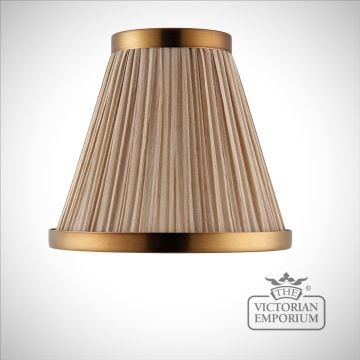 Suffolk lamp shade in 6 or 8 inch in a choice of colours