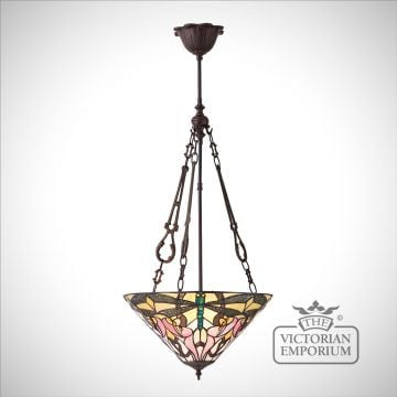 Ashton medium inverted 3lt pendant 60W