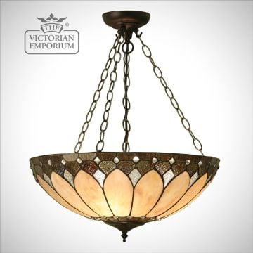 Brooklyn large inverted 3lt pendant