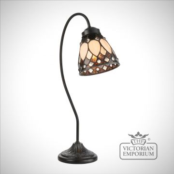 Brooklyn swan neck table lamp