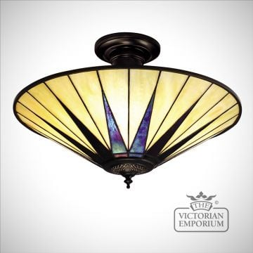 Dark star large 3lt semi flush light