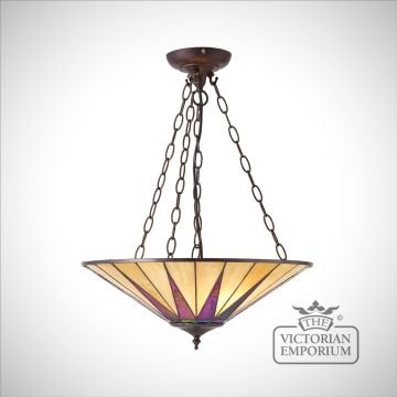 Dark star large inverted 3lt pendant